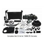 Vintage Air SureFit Gen IV System 961174 1968-76 Corvette Complete Kit (non-factory air)