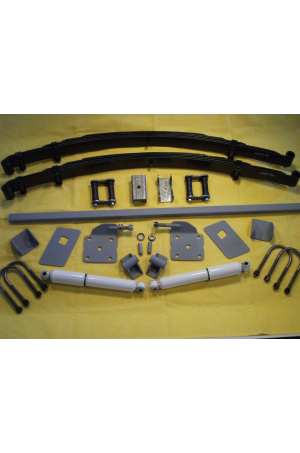Chassis Engineering AS-0010CGY Universal Leaf Spring Rear End Mounting Kit