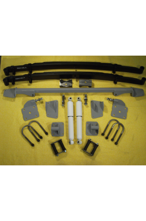 Chassis Engineering AS-1019CG Leaf Spring Rear End Mounting Kit 1941-48 Chevy Car
