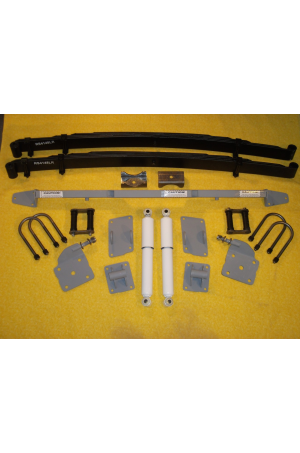 Chassis Engineering AS-1021CGLR Low Arch Leaf Spring Rear End Mounting Kit 1949-54 Chevy Car