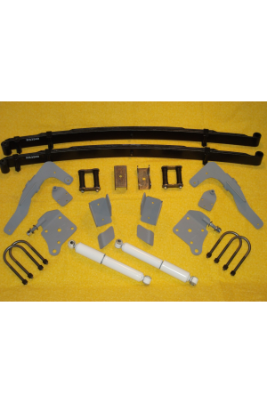 Chassis Engineering AS-2016CG Leaf Spring Rear End Mounting Kit 1936-40 Ford Car 1935-41 Ford Truck