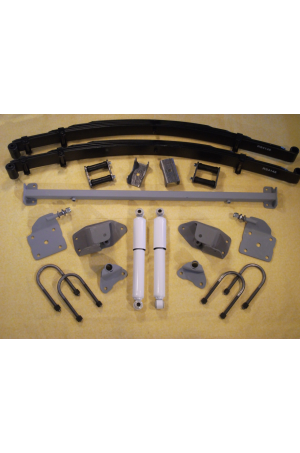 Chassis Engineering AS-4133CGY High Arch Leaf Spring Rear End Mounting Kit 1933-35 Dodge Car/Truck