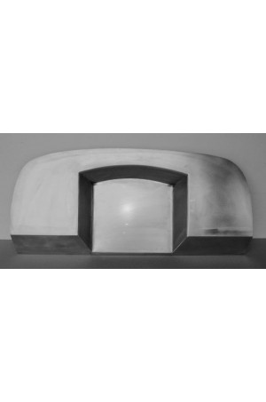 "Direct Sheetmetal CV294 Custom Curved 4"" Recessed Firewall for 1947-54 Chevy Pick up truck"