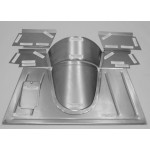 Direct Sheetmetal FD207 Front Floor Kit for Our Firewall for 1933-34 Ford Pick-up Truck