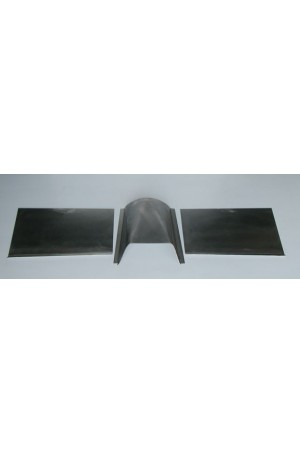 Direct Sheetmetal FD306 Right & Left Toes, Extension Kit for 1949-51 Ford with Stock Firewall