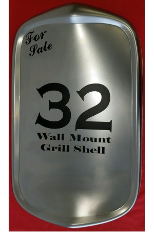 1932 Ford Grille Shell Wall Display Art Deco