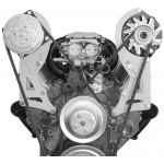 Alan Grove Small Block Chevy Long Water Pump A/C Compressor Bracket (Part # 120R)
