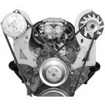 Alan Grove Small Block Chevy Long Water Pump A/C Compressor Bracket (Part # 131R)