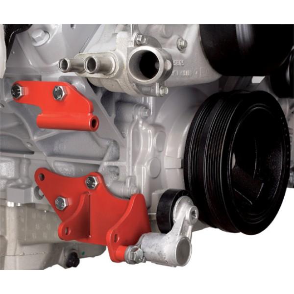 Alan Grove Low Mount A C Compressor Bracket For Camaro