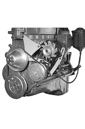 Alan Grove Alternator & A/C Compressor Bracket for Chevy Inline Six 235 (Part # 301L)