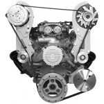 Alan Grove 1992-1996 Corvette Chevy LT1  Alternator & A/C Compressor Brackets(Part # 304)