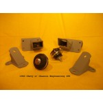 Chassis Engineering Engine Mounting Kit for 1940 Chevy Passenger Cars