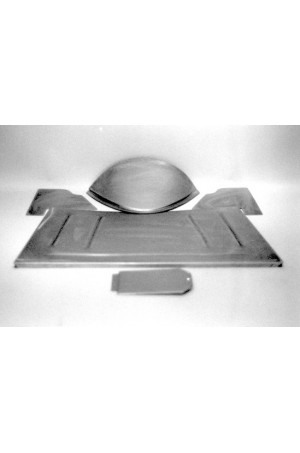 Direct Sheetmetal FD117 Front Floor Kit for 1928-1931 Ford Model A with Our Recessed Firewall