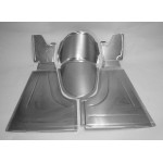 "Direct Sheetmetal FD127 Front Floor Kit for 1933-1934 Ford Passenger Car with Our 3"" Recessed Firewall"