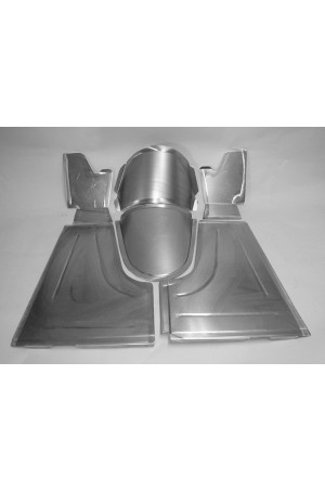 """Direct Sheetmetal FD127 Front Floor Kit for 1933-1934 Ford Passenger Car with Our 3"""" Recessed Firewall"""