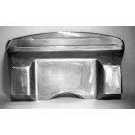 """Direct Sheetmetal FD132 Complete 3"""" Recessed Firewall for 1935-1936 Ford Passenger Cars"""