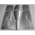 Direct Sheetmetal FD135 Front Floor Kit for 1935-1940 Ford Passenger Cars with Stock Firewall
