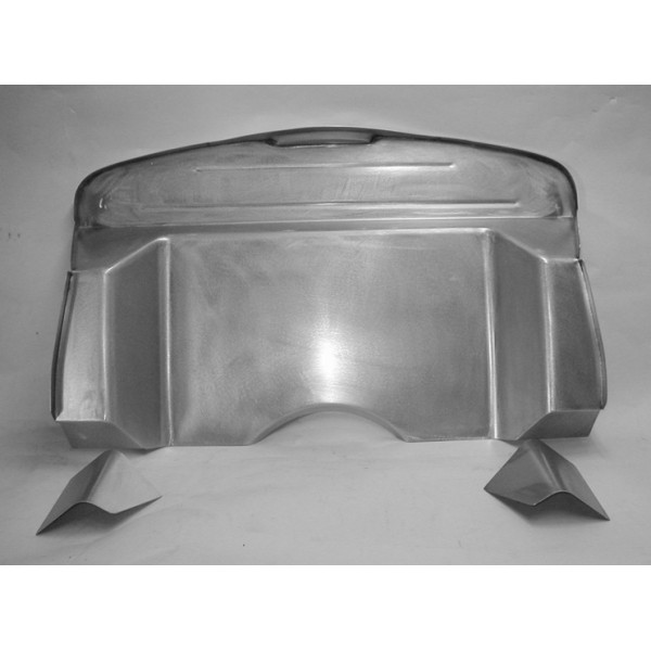 Direct Sheetmetal Fd137 Complete 5 Recessed Firewall For 1937 1940 Ford Passenger Cars