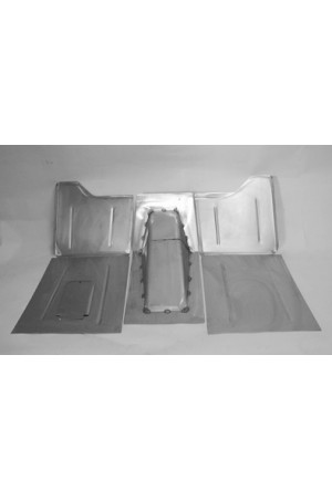 "Direct Sheetmetal CV146 Front Floor Kit for 1936 Chevy Passenger Cars with Our 2"" Recessed Firewall"