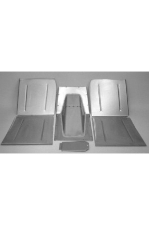 Direct Sheetmetal CV148 Front Floor Kit for 1936 Chevy Passenger Cars with Stock Firewall