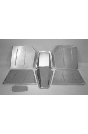Direct Sheetmetal CV151 Front Floor Kit for 1937-1939 Chevy Passenger Car with Stock Firewall