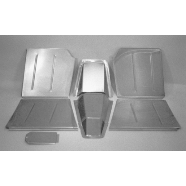 Direct Sheetmetal Cv151 Front Floor Kit For 1937 1939 Chevy Passenger Car With Stock Firewall