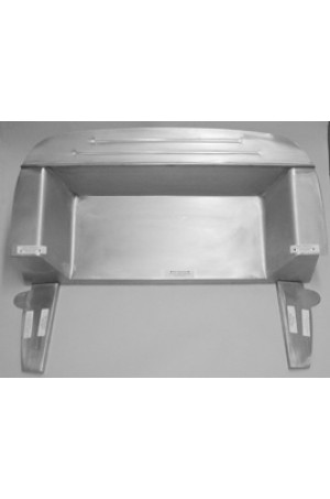 """Direct Sheetmetal CV160 Complete 4"""" Recessed Firewall for 1937-1939 Chevy Passenger Cars"""