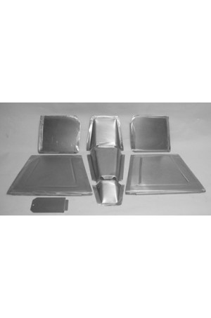 Direct Sheetmetal CV174 Front Floor Kit for 1940 Chevy Passenger Car with Stock Firewall