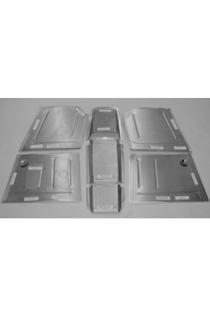 Direct Sheetmetal CV186 Front Floor Kit for 1941-1948 Chevy Passenger Car with Stock Firewall