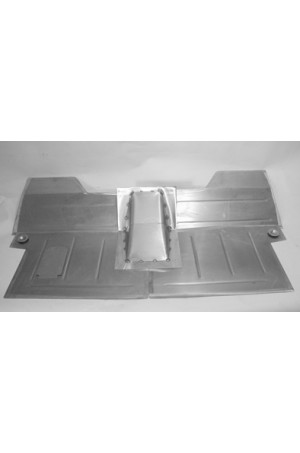 "Direct Sheetmetal CV205 Front Floor Kit for 1955(Second Series)-1959 Chevy & GMC Trucks with Our 4"" Recessed Firewall"
