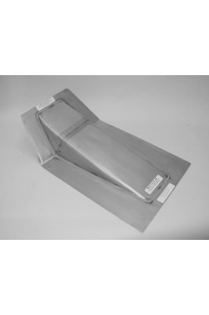 Direct Sheetmetal CV225 Transmission Cover for 1947-1955 (First Series) Chevy & GMC Trucks with Stock Floor