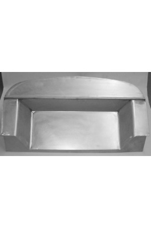 """Direct Sheetmetal CV236 Complete 4"""" Recessed Firewall for 1940 Chevy Passenger Cars"""