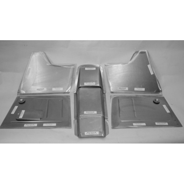 Direct Sheetmetal Cv242 Front Floor Kit For 1941 1948