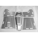 Direct Sheetmetal CV245 Front Floor Kit for 1937-1939 Chevy Truck with Our Recessed Firewall