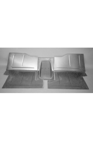 Direct Sheetmetal CV254 Front Floor Kit for 1955(Second Series)-1959 Chevy & GMC Trucks with Stock Firewall