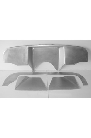 """Direct Sheetmetal CV255 Complete 5"""" Recessed Firewall for 1967-1972 Chevy & GMC Trucks"""
