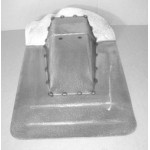 Direct Sheetmetal CV283 Transmission Cover for 1955(Second Series)-1959 Chevy & GMC Trucks with Stock Floor