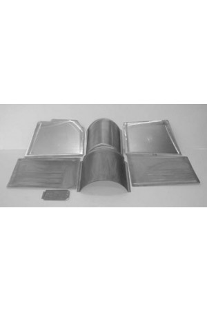 Direct Sheetmetal CVO263 Front Floor Kit for 1949-1950 Chevy & Oldsmobile Passenger Cars with Stock Firewall