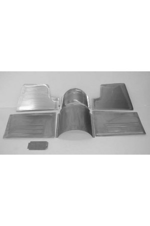 Direct Sheetmetal CVO264 Front Floor Kit for 1949-1950 Chevy & Oldsmobile Passenger Cars with Our Recessed Firewall