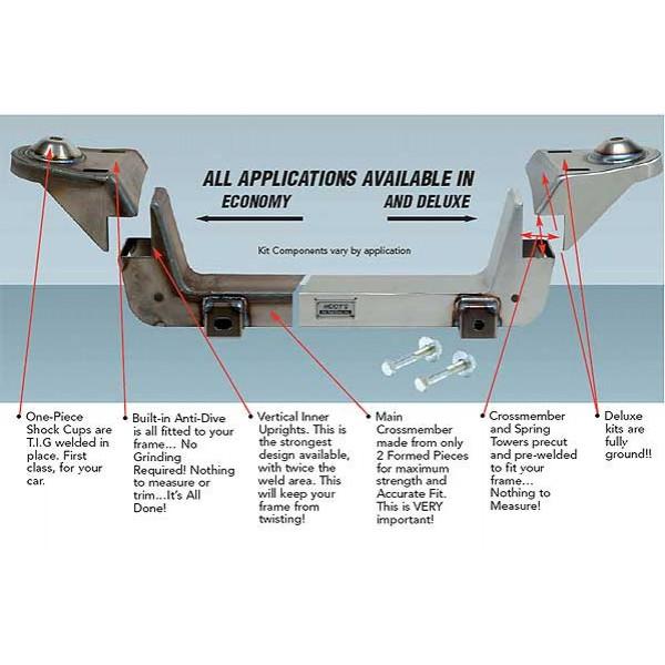 Heidts Complete Mustang II Front Suspension