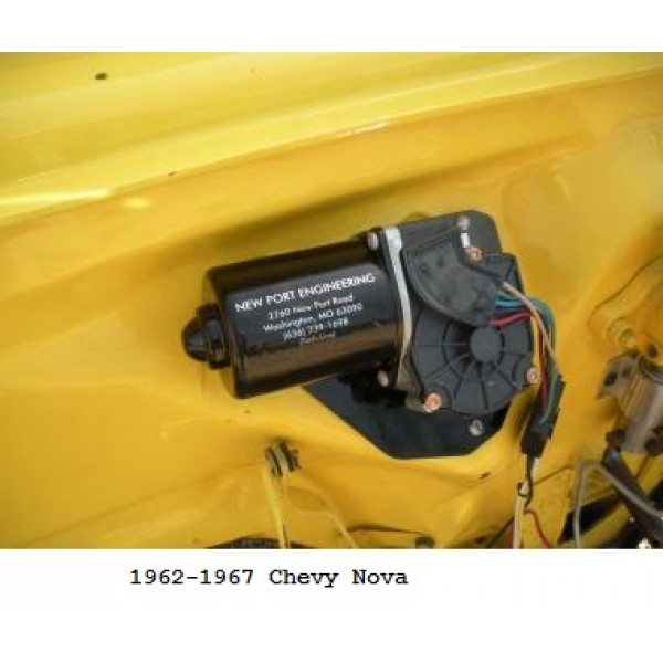 Newport_6267Nova 600x600 port engineering 12 volt windshield wiper motor for chevy novas GM Windshield Wiper Wiring Diagram at edmiracle.co