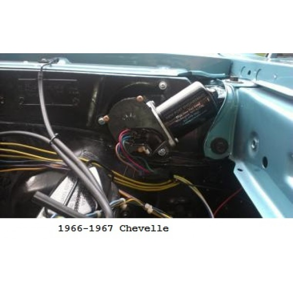 Newport_6667Chevelle 600x600 port engineering 12 volt windshield wiper motor for chevy chevelles 1963 impala wiper motor wiring diagram at eliteediting.co