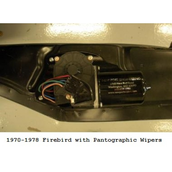 New Chevrolet Volt Newport >> New Port Engineering 12 Volt Windshield Wiper Motor for Pontiac Passenger Cars & Firebird