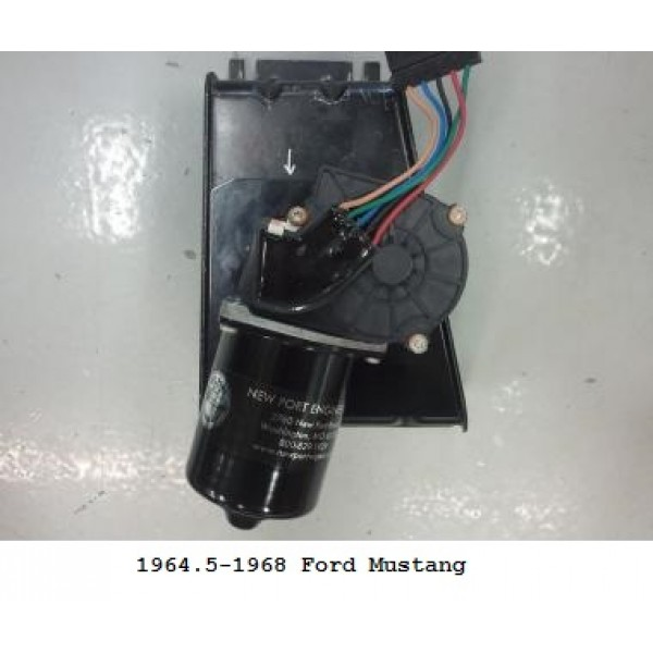 New Port Engineering 12 Volt Windshield Wiper Motor for Ford Falcon ...