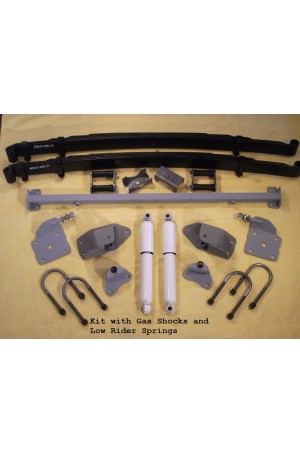 Chassis Engineering Complete Leaf Spring Rear End Mounting Kit for Dodge & Plymouth Passenger Cars