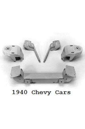 Chassis Engineering Mustang II Bolt-In Crossmember Kit for 1940 Chevy Passenger Cars