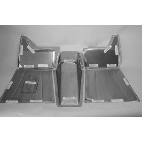 Direct Sheetmetal Cv147 Front Floor Kit For 1936 Chevy