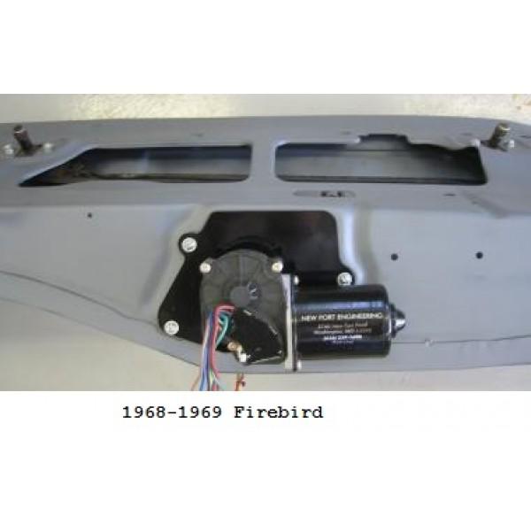 new port engineering 12 volt windshield wiper motor for pontiac passenger cars firebird. Black Bedroom Furniture Sets. Home Design Ideas